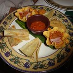 apps at Mexican restuarant on the resort