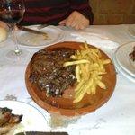 Chuletón por 15 euros