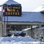 Gray Wolf Inn and Suites - Winter Exterior
