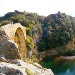 Puente en las cercanias de Tortellà