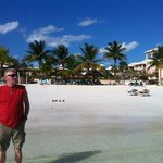 This is the resort in the background behind Pops...