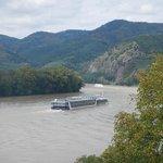 Vista do Danúbio no Vale do Wachau