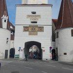 Adentrando na cidade de Krems
