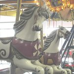 1913 wooden carousel