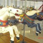 1950's aluminum carousel