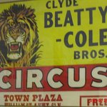 Circus poster from C.W. Parker's collection