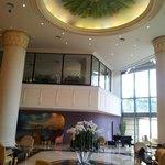 Lobby cieling