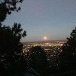 November full moon from Flagstaff house