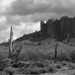 Shot of the Superstitions, live in teh area so I often go to the park to take pictures