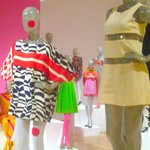 day-glo colors and graphic prints
