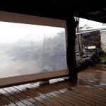 local das mesas e visual (desconte o dia chuvoso)