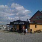 L'ancien marché au poisson en face de l'hôtel