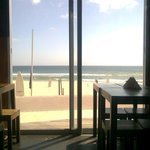 Carcavelos beach view by quiete cafe