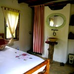 Our lovely room with ensuite