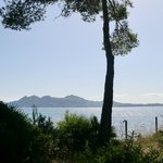view towards alcudia headland