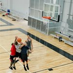 Basketball courts. Adult leagues