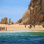 One of the beaches in Cabo