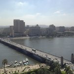 Вид из окна на Нил