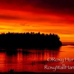 Awesome sunset Parksville Beach
