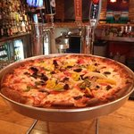 Our newest menu item- deep dish pizza!