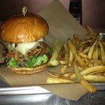 Burger and Fries from $8.99 lunch menu