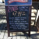 $8.99 Lunch Menu every day 11-2