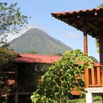 View to the arenal Volcano