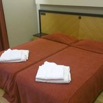 Room 2206 in Beach Residence building. Originally twin beds