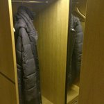 Room 2206 in Beach Residence building. Small closet