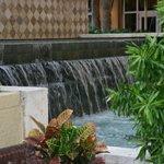 Nice outdoor fountain