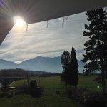 Morning view of Bucegi mountains