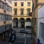 Via Roma dalla camera