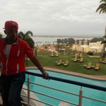 chilling at Hotel Cardoso ,Mputo , Mozambique