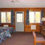 Quiet Bay Log Motel Room