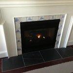Open fireplace?