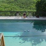 Concordia pool overlooking Salt Pond Bay