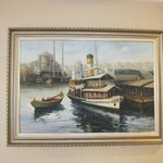 Painting from ancient iSTANBUL in our room