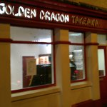 Golden Dragon Chinese Foto