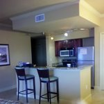 Kitchen in 2 bedroom platinum suite