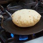 Puffed roti