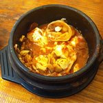 Dumpling Tofu Soup (half left)
