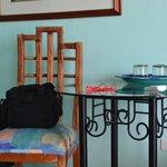 Mesa y accesorios