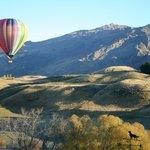 summer ballooning