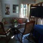 Sala de la habitación del Escape Romántico