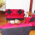 Sala de estar, Hotel Sula Sula, Galapagos, Ecuador