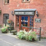 Entrance to the Brewery shop