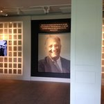 The newly renovated FDR Library/Museum Lobby