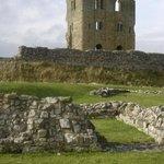 Ruínas do castelo de Scarborough
