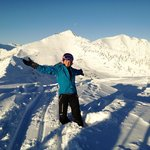 Top of Kicking Horse November 2013