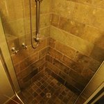 Executive King Room have beautiful volcanic tiled showers